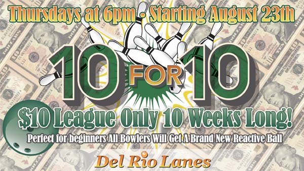 10 for 10 Promo